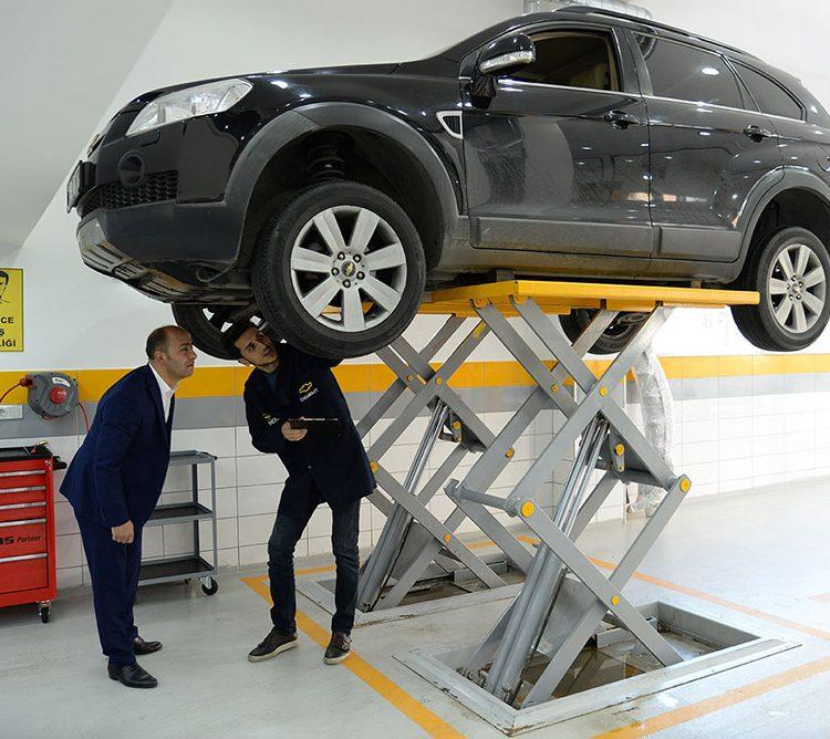ram otomotiv bakım onarım hizmeti